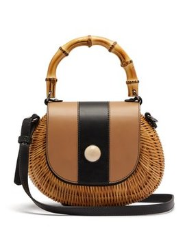 Marina Wicker Basket Bag by Wai Wai