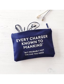 Cable & Charger Organisation Bag by Etsy