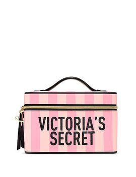 Signature Stripe Runway Vanity Case by Victoria's Secret