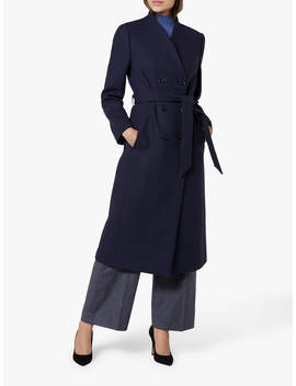 L.K.Bennett Verlee Trench Coat, Navy by L.K.Bennett