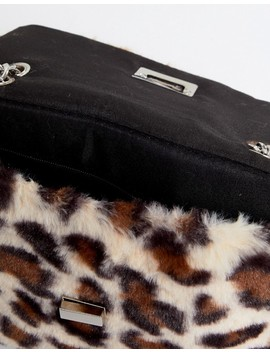 Stradivarius Leopard Faux Fur X Body by Stradivarius
