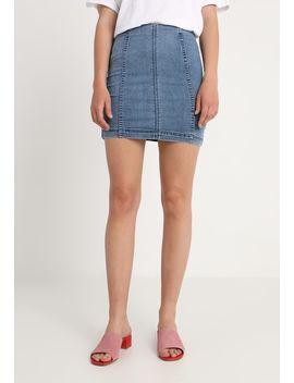 Modern Femme Skirt   Jeansnederdel/ Cowboy Nederdele by Free People