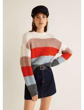 Multicolor Sweater by Mango