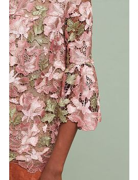 Anna Sui Metallic Rose Blouse by Anna Sui