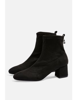 **Wide Fit Blossom Ring Back Boots by Topshop