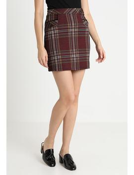 Check Trim   Mini Skirts by Dorothy Perkins