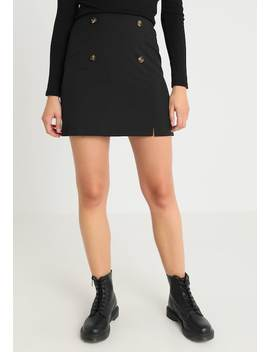 Button Skirt   A Snit Nederdel/ A Formede Nederdele by Miss Selfridge