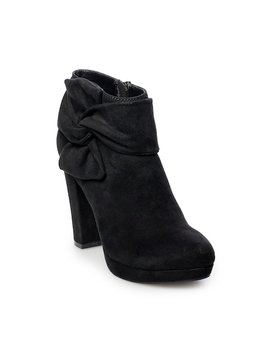 Lc Lauren Conrad Éclair Women's High Heel Ankle Boots by Kohl's