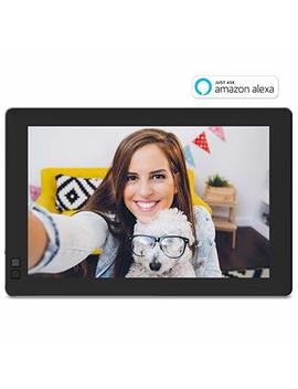 "Nixplay W10 B Seed 10.1"" Widescreen Wi Fi Cloud Digital Photo Frame With Ips Display, I Phone & Android App, I Os Video Playback, Free 10 Gb Online Storage, Alexa Integration And Hu Motion Sensor, Black by Nixplay"