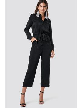 shirt-jumpsuit-black by na-kd