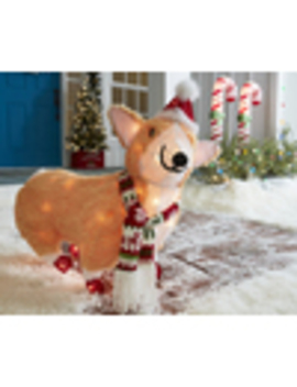 Holiday Living 25 In Dog Sculpture With Clear Incandescent Lights by Lowe's