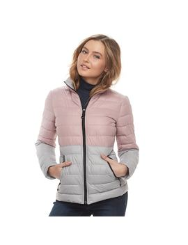 Women's Halitech Colorblock Packable Puffer Jacket by Kohl's