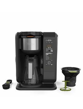Ninja Hot And Cold Brewed System, Auto I Q Tea And Coffee Maker With 6 Brew Sizes, 5 Brew Styles, Frother, Coffee & Tea Baskets With Glass Carafe (Cp301) by Shark Ninja