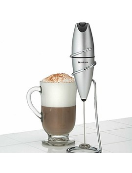 Bon Jour Stainless Steel Oval Frother With Stand by Bed Bath And Beyond