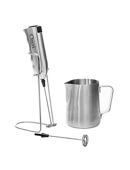 Ozeri Stainless Steel Milk Frother, Whisk And Frothing Pitcher Set by Bed Bath And Beyond