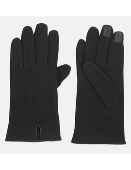 Notched Touchscreen Gloves by Avenue