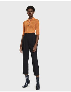 Sunshine Knitted Polo Shirt by Ellery