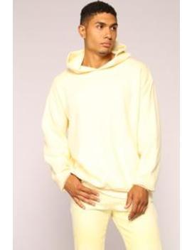 Gary Hoodie   Yellow by Fashion Nova