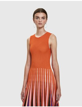 Knit Circle Dress by Msgm
