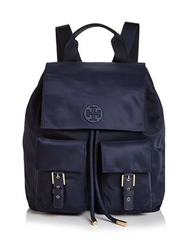 Tilda Medium Nylon Backpack by Tory Burch