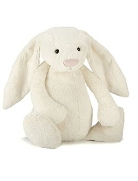 Jellycat Bashful Cream Bunny, Really Big, 31 Inches by Jellycat