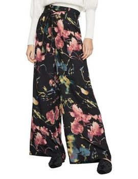 Rustic Grove Wide Leg Paperbag Pants by Bcbgmaxazria