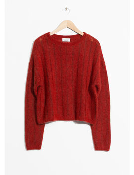 Fuzzy Mohair & Wool Knit by & Other Stories