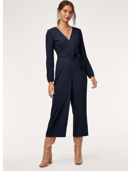 Eclment Jumpsuit Ls by Wilfred