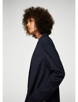Unstructured Flowy Blazer by Mango