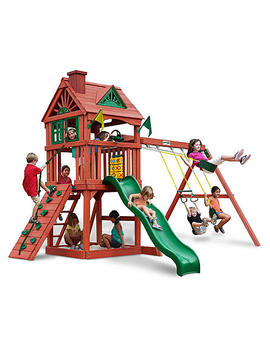 Gorilla Play Sets Nantucket Swing Set   Redwood Finish Gorilla Play Sets Nantucket Swing Set   Redwood Finish by Sears