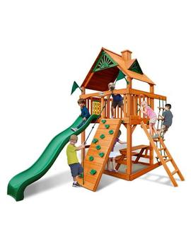 Gorilla Play Sets Chateau Tower Swing Set Gorilla Play Sets Chateau Tower Swing Set by Sears