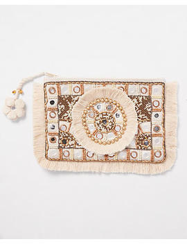Shiraleah Embellished Zip Pouch by Express