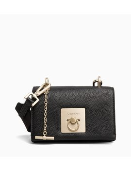 Small Flap Cross Body Bag by Calvin Klein