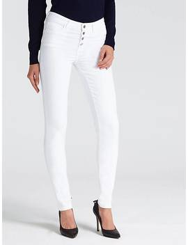 Multi Button Skinny Trouser by Guess