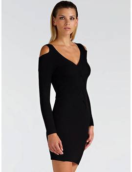 Dress With Cable Pattern by Guess