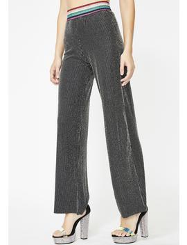 Miss Sparkle Striped Pants by Sans Souci Clothing