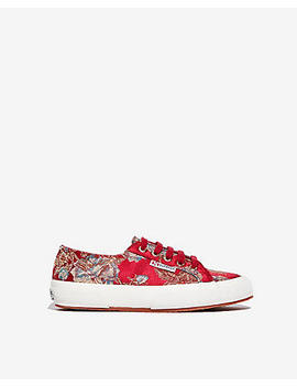 Superga Embroidered Sneakers by Express