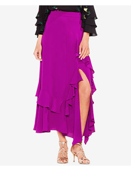 Tiered Ruffled A Line Skirt by Vince Camuto