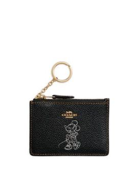 Mini Disney X Coach, Disney Boxed Leather Minnie Mouse Skinny Id Case by Coach