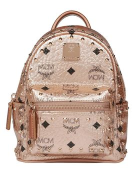 Stark Studs Xmini Backpack by Mcm