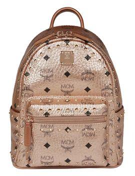 Mcm Mini Stud Stark Backpack by Mcm