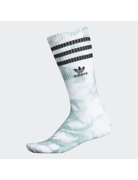 Tie Dye Roller Crew Socks by Adidas
