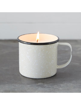 Hot Cider Candle, Enamel Mug by Terrain