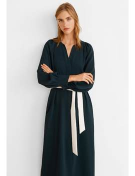 Rolling   Maxi Dress by Mango