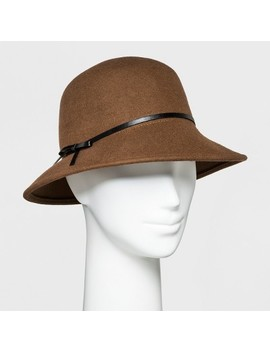 Women's Trench Faux Suede Fashion Hat   A New Day™ by A New Day™