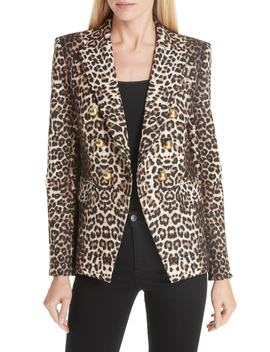 Miller Leopard Print Dickey Jacket by Veronica Beard