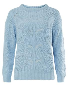 Blue Lofty Jumper by Dorothy Perkins