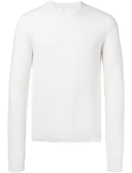 Helmut Langribbed Knit Sweaterhome Men Helmut Lang Clothing Knitted Sweaters by Helmut Lang