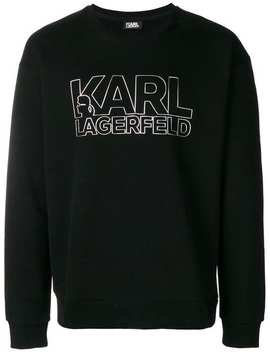 Karl Lagerfeldlogo Print Sweatshirt Home Men Karl Lagerfeld Clothing Sweatshirts by Karl Lagerfeld
