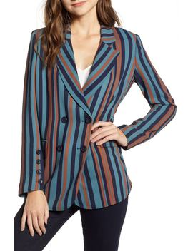 Stripe Blazer by Chelsea28